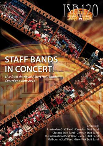 Staff Bands in Concert DVD Cover
