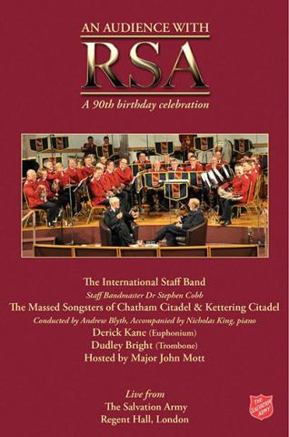 An audience with RSA - a 90th birthday celebration DVD Cover